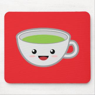 Grüner Tee Mousepad