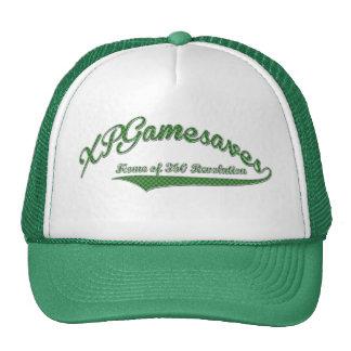 Grüner Text XPGamesaves Hut Truckermütze