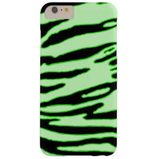 Grüner Tiger-Streifen-Kasten Barely There iPhone 6 Plus Hülle