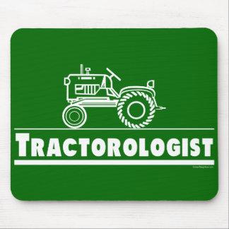Grüner Traktor Ologist Mousepad