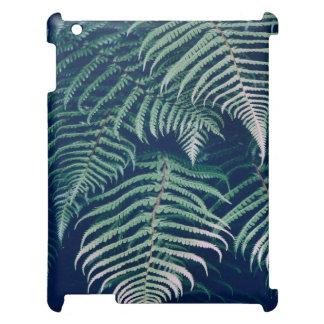 Grüner tropischer Farn verlässt natürliches Muster iPad Hülle