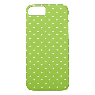 Grüner Tupfen iPhone 7 Kasten iPhone 7 Hülle