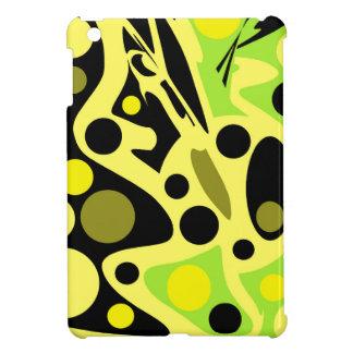 Grüner und gelber Dekor iPad Mini Schale