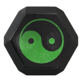 Grüner und schwarzer Yin Yang Boombot REX Schwarze Bluetooth Lautsprecher