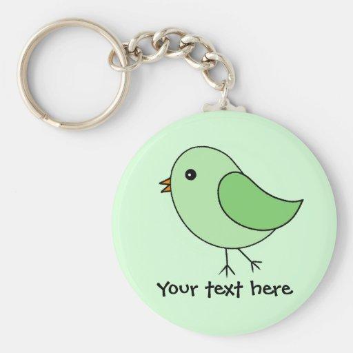 Grüner Vogel Schlüsselbänder