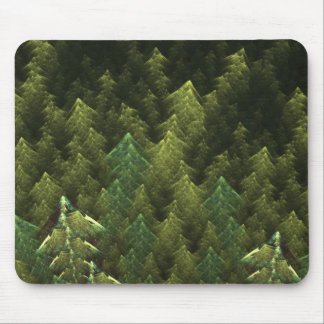 Grüner Wald Mauspads