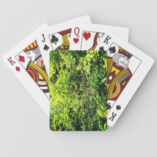 Grüner Wald Spielkarten