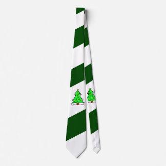 Grüner weißer diagonaler krawatte