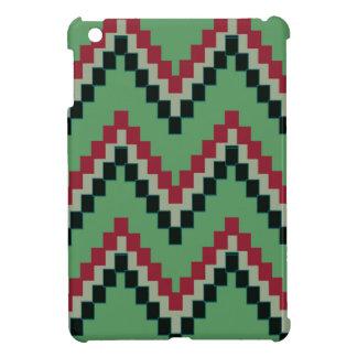 Grüner Western-Block Zickzack iPad Mini Hülle
