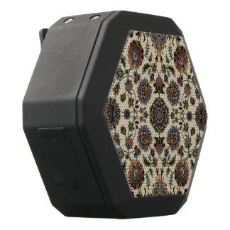 Grüner Wildblumen-Tapisseriespiralerahmen Schwarze Bluetooth Lautsprecher