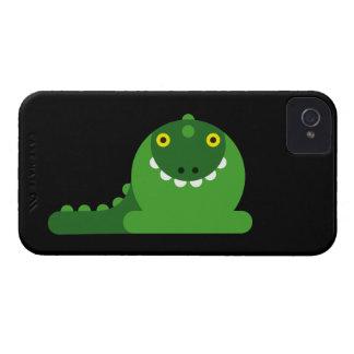 Grüner wütender Drache iPhone 4 Cover