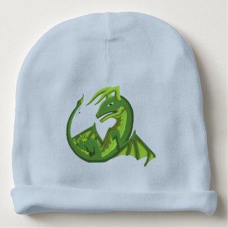 Grüner Wyvern-Baby-Drache-Hut Babymütze