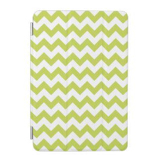 Grüner Zickzack Stripes Zickzack Muster iPad Mini Hülle