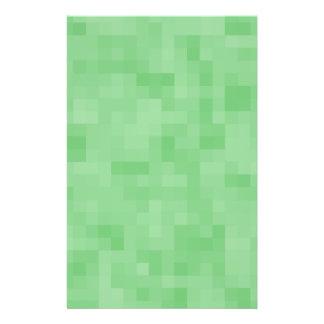 Grünes abstraktes Muster 14 X 21,6 Cm Flyer