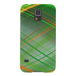 Grünes abstraktes Sammlungsthema 2 Hülle Fürs Galaxy S5