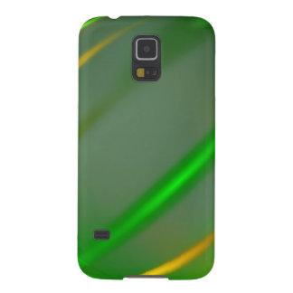 Grünes abstraktes Sammlungsthema 3 Samsung Galaxy S5 Cover
