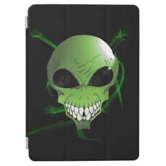 Grünes alien iPad intelligente Abdeckung iPad Air Hülle