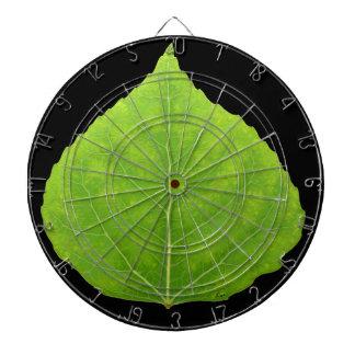 Grünes Aspen-Blatt #11 Dartscheibe