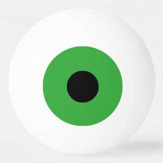 Grünes Auge Ping-Pong Ball