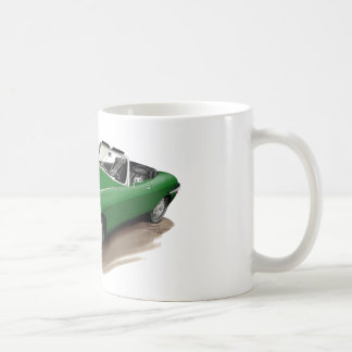Grünes Auto Jaguars XKE Kaffeetasse
