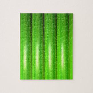 Grünes BambusSet Puzzle