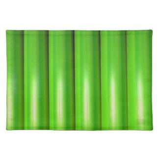 Grünes BambusSet Tischset