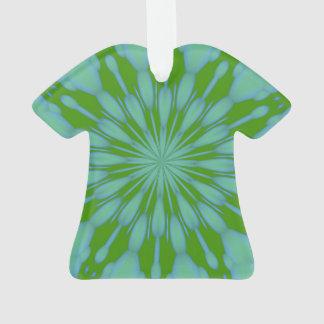 Grünes Blasen-Zen-Acryl Ornament