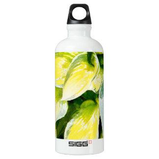 Grünes Blatt Aluminiumwasserflasche