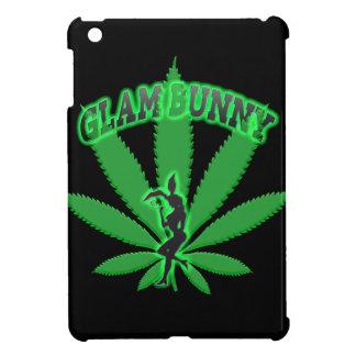 Grünes Blatt-Häschen-Logo iPad Mini Hülle