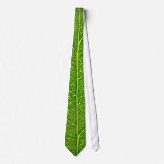 grünes Blatt Krawatte