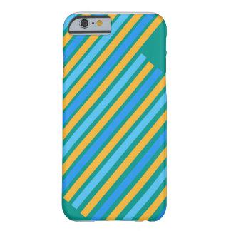 Grünes, blaues u. gelbes Streifen iPhone 6 Hüllen