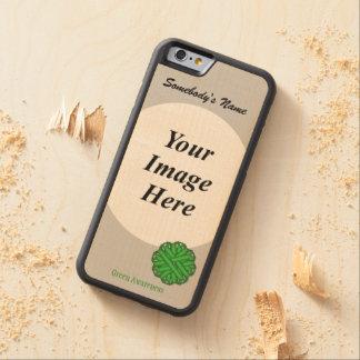 Grünes Blumen-Band Tmpl durch Kenneth Yoncich Bumper iPhone 6 Hülle Ahorn