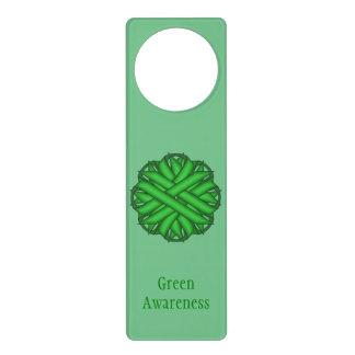 Grünes Blumen-Band Türanhänger