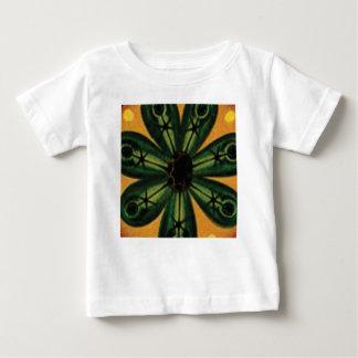 grünes Blumenblatt stemm Baby T-shirt