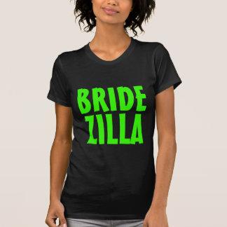 Grünes Bridezilla Neont-Shirt, damit die Braut ist T-Shirt