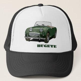 Grünes Bugeye Truckerkappe