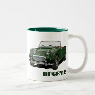 Grünes Bugeye Zweifarbige Tasse
