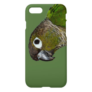 Grünes Cheeked Conure iPhone 8/7 Hülle