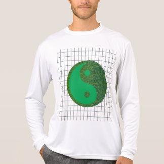 Grünes Chinese-Erbe der Balancen-YIN YANG YinYang T-Shirt