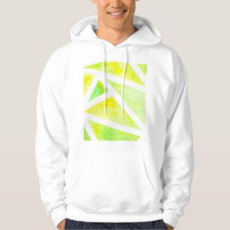Grünes Dreieck Hoodie