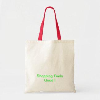 grünes Einkaufen Budget Stoffbeutel
