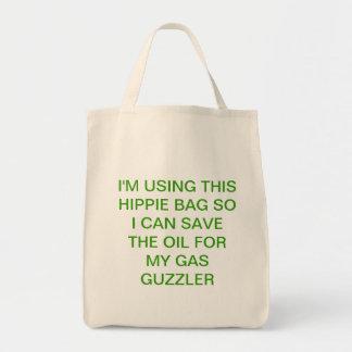 Grünes Einkaufen mit Spaß Einkaufstasche