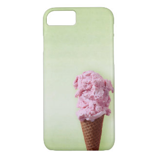 Grünes Eiscreme-Rosa - Spaß - iPhone 7 iPhone 7 Hülle