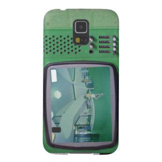 Grünes Fernsehen Samsung S5 Hülle