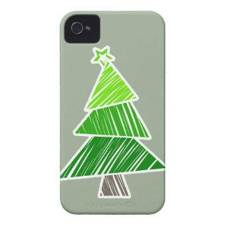Grünes flüchtiges iPhone 4 Case-Mate hülle