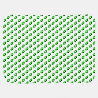 Grünes Fußball-Muster Babydecke