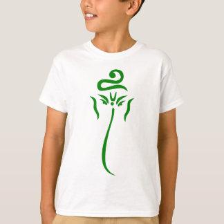 Grünes Ganesha T-Shirt