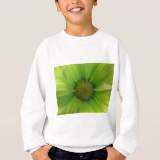 grünes Gänseblümchen Sweatshirt