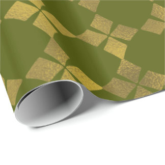 Grünes Geschenkpapier