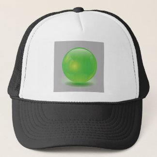 Grünes Glas-Bereich Truckerkappe